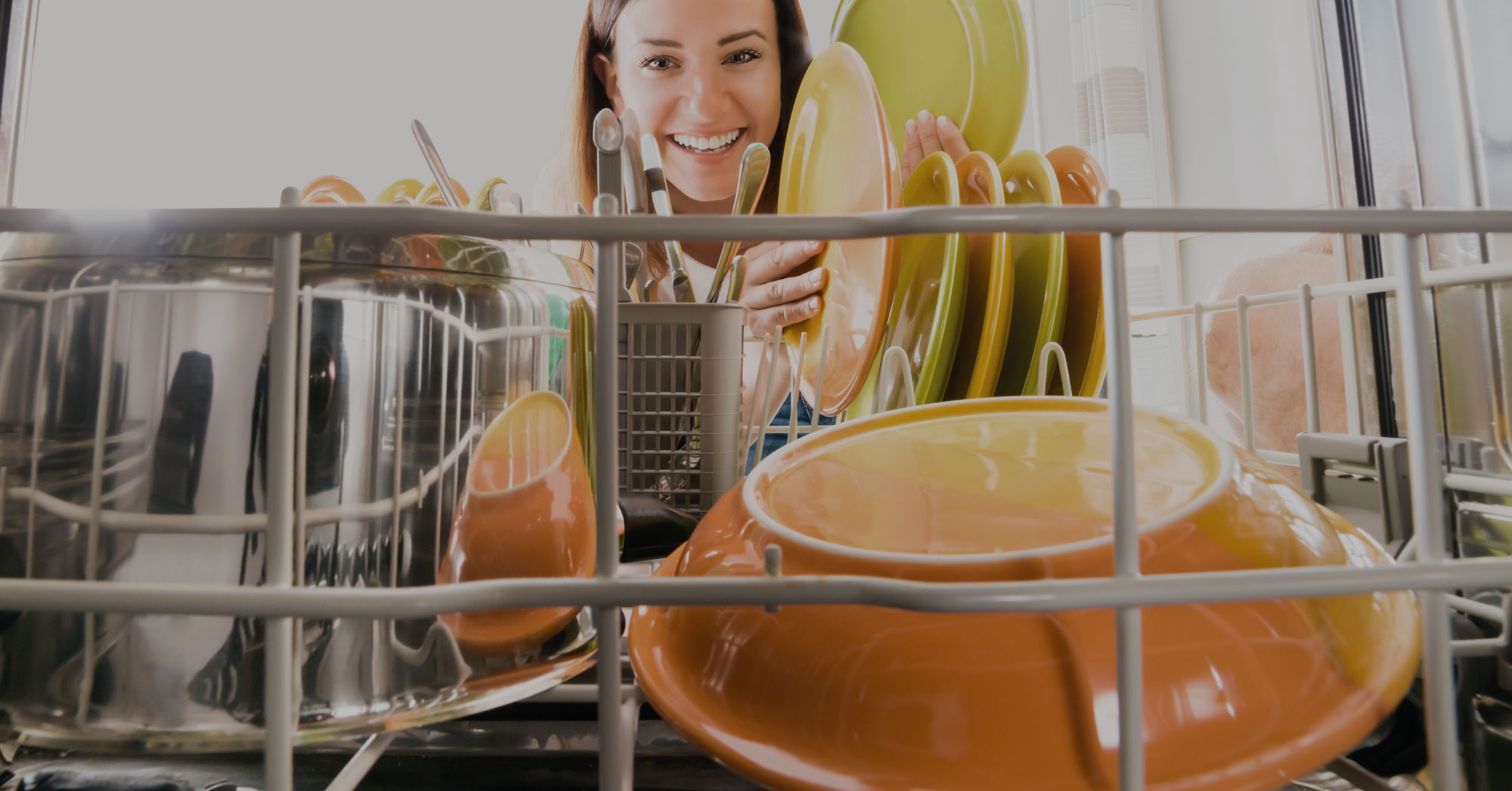 The art of filling the dishwasher properly
